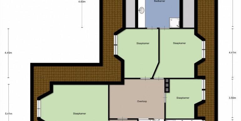 plaategrond verdieping