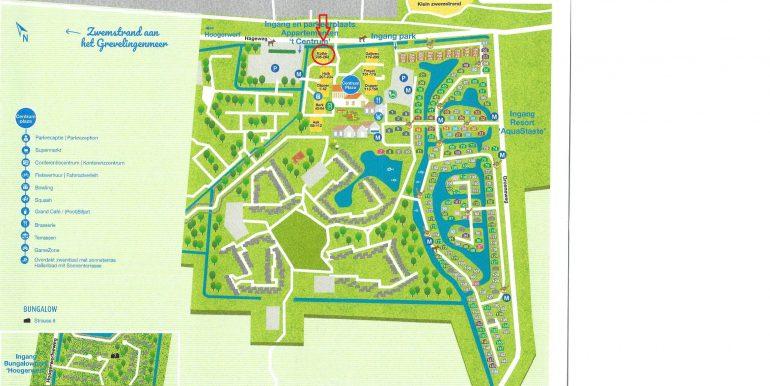 Kaart locatie appartement