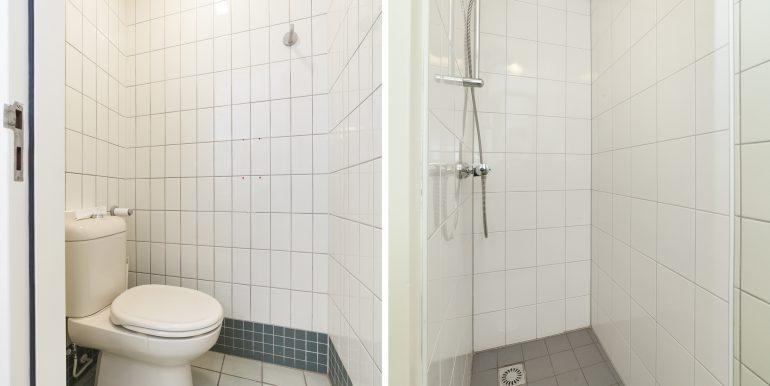 Toilet 1+Badkamer 2